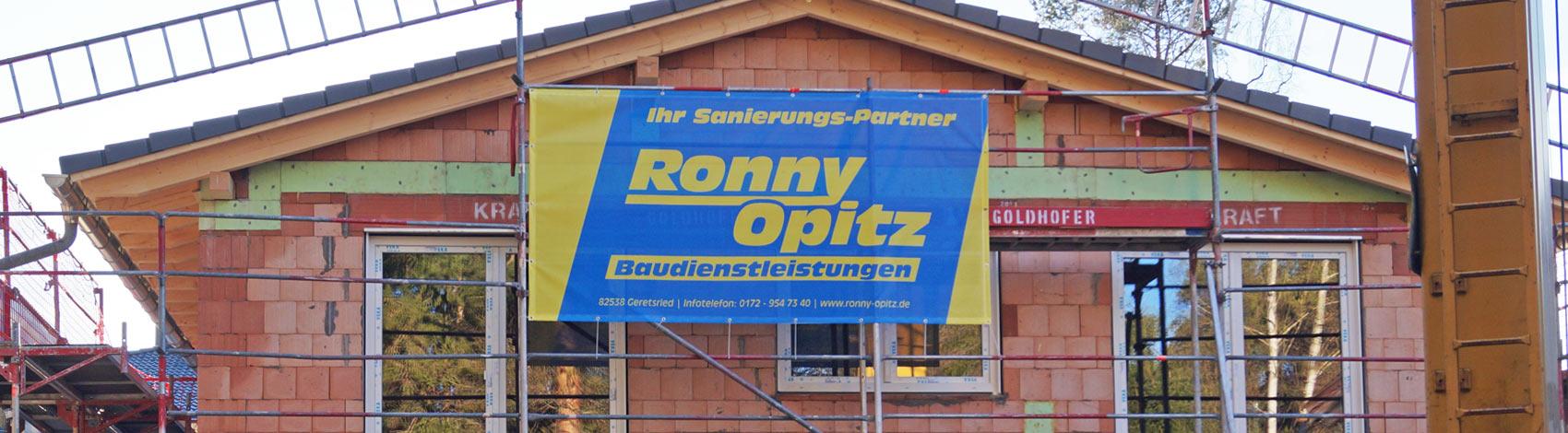 Ronny Opitz Baudienstleistungen